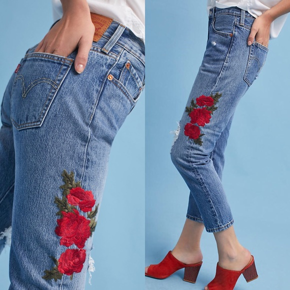 dd702aa9 Levi's Jeans | Levis Premium 501 Cropped Taper Cotton | Poshmark